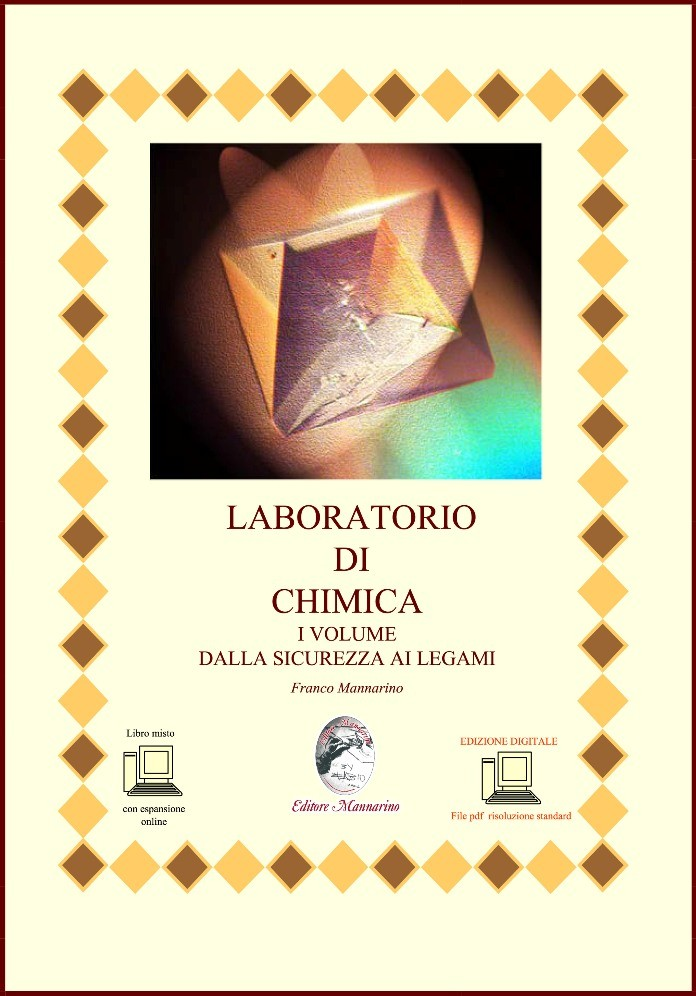 Laboratorio di chimica I Vol Dalla sicurezza ai legami