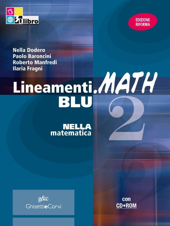 Lineamenti.math blu vol.2