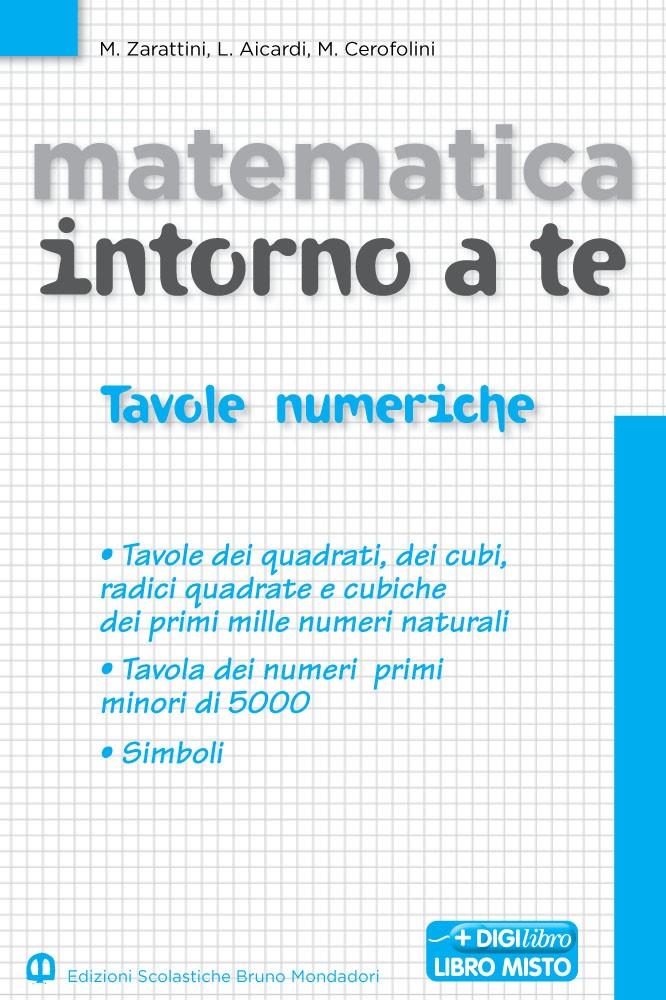 Matematica intorno a te 1. Tavole numeriche