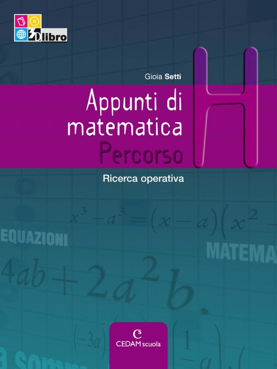 Appunti di matematica Edizione Riforma - Percorso H